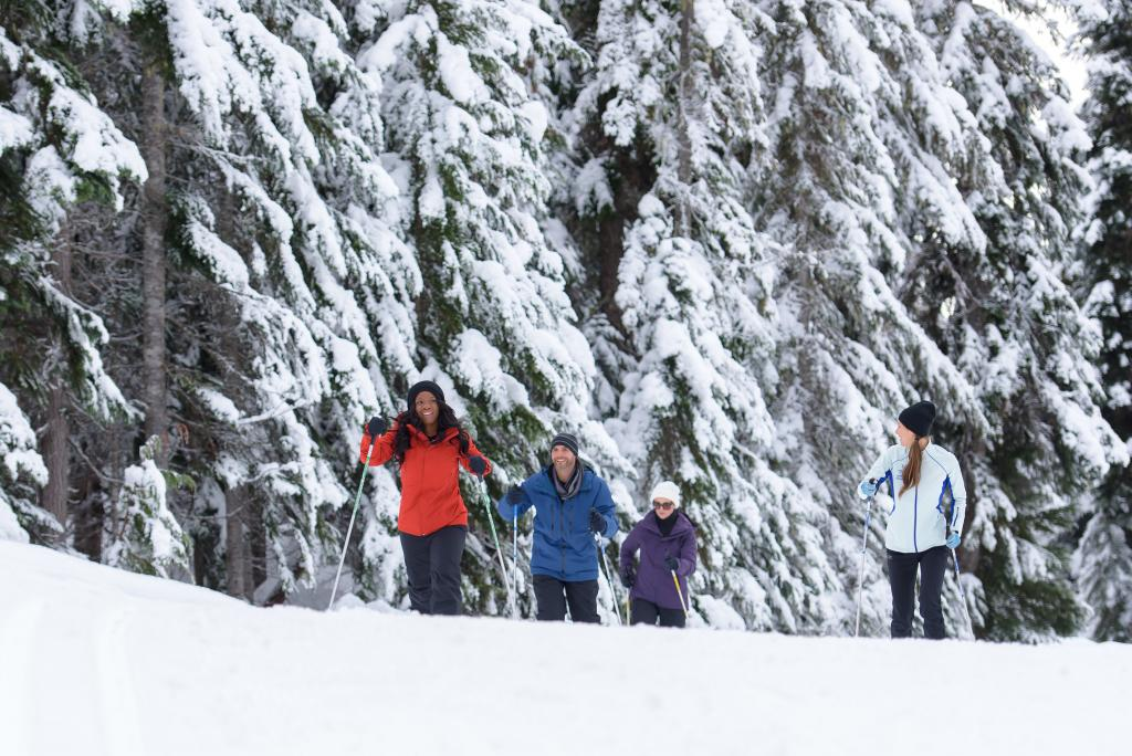 Cross country skiing at Whistler Olympic Park
