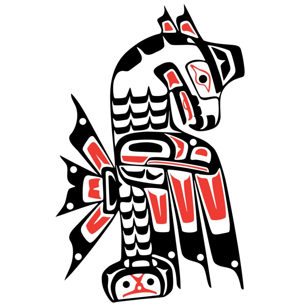 Logo Squamish Nation - square