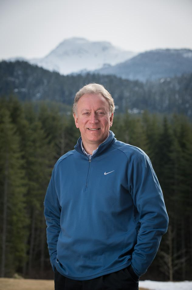 Roger Soane, President & CEO of Whistler Sport Legacies