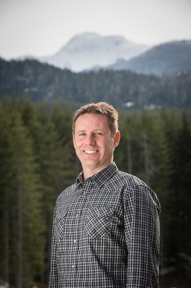 Tim Hope, Managing Director, Whistler Olympic Park