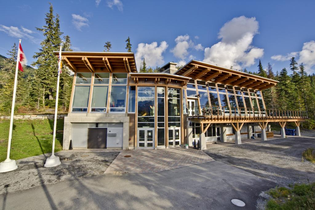 Whistler Olympic Park Day Lodge Front View