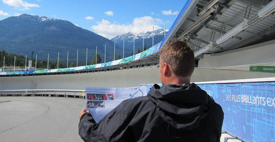 Sightseeing Whistler Sliding Centre