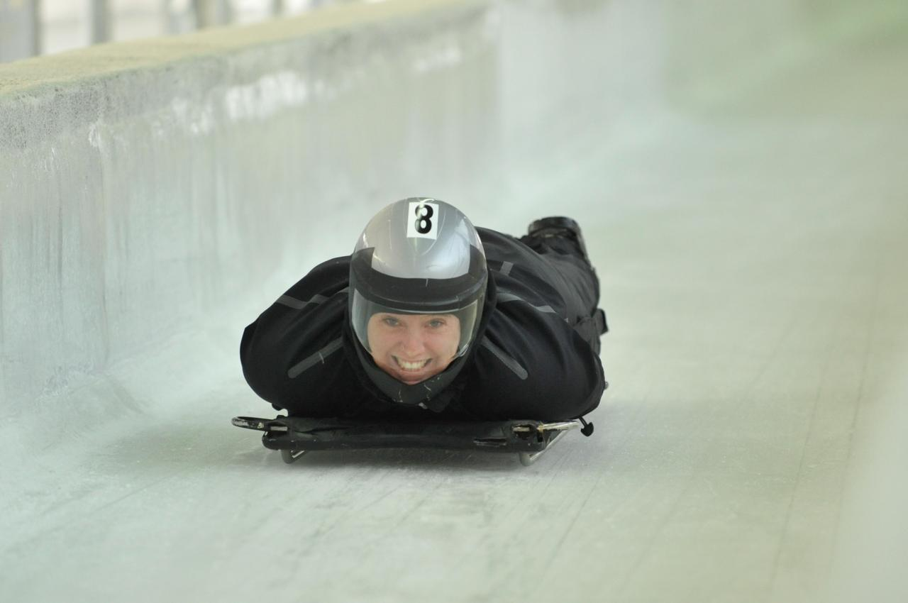 Public Skeleton Experience Whistler Sliding Centre
