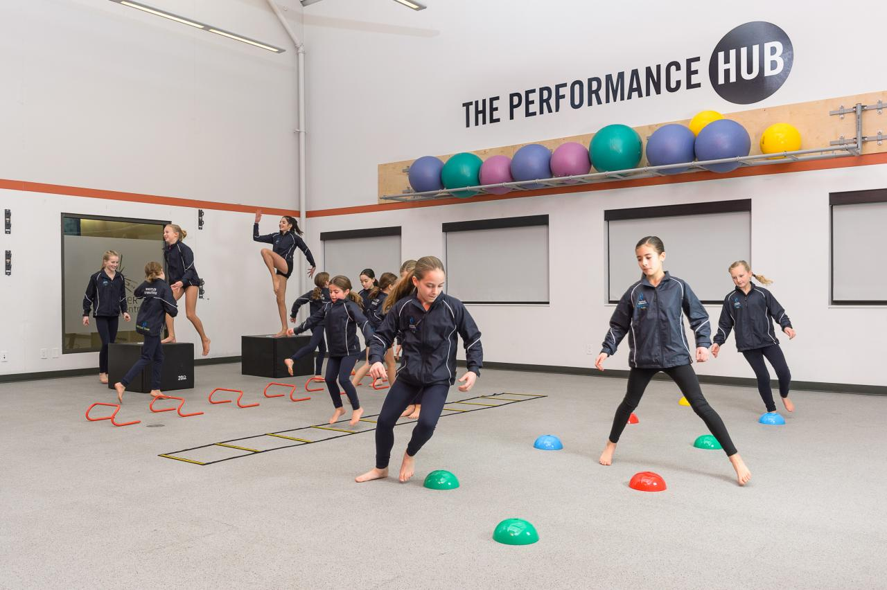 Dryland training youth sport program