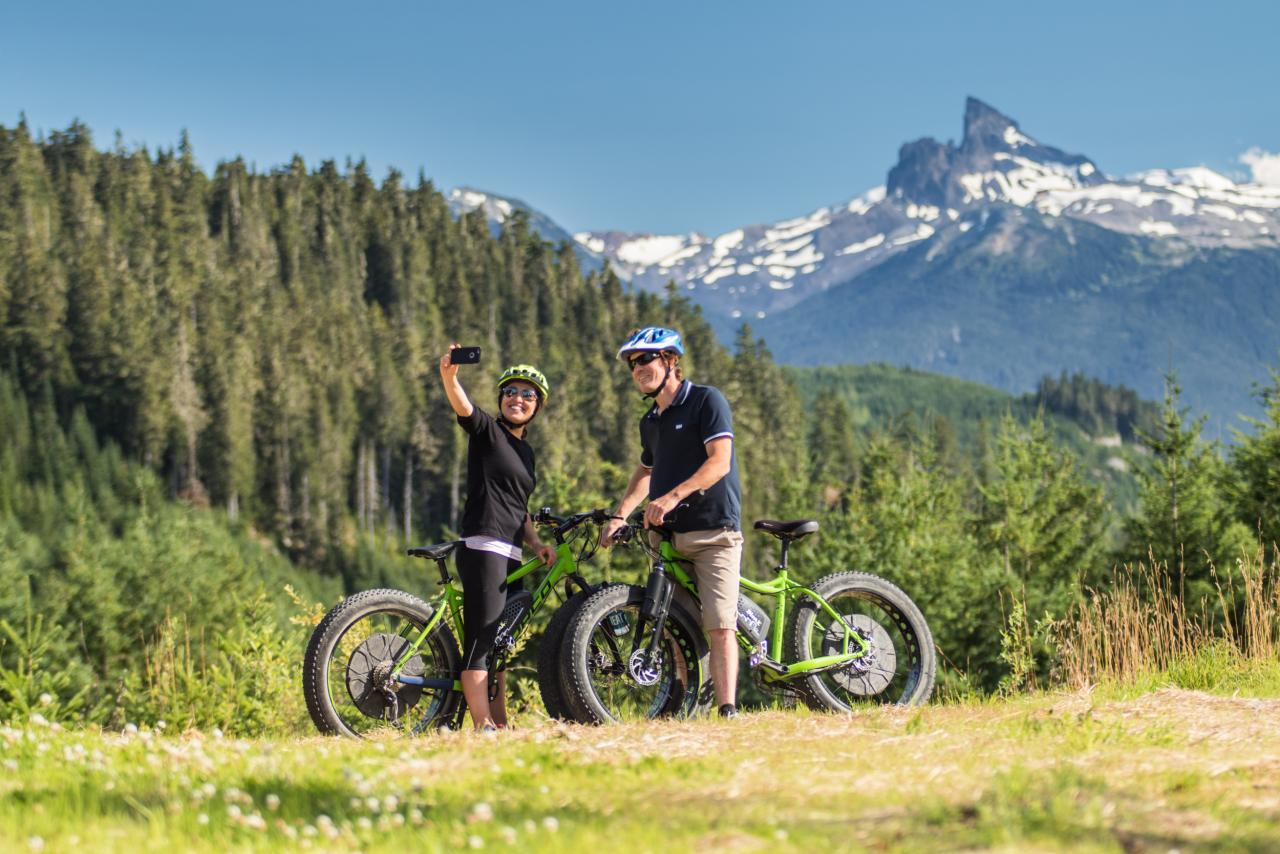 Electric Assist Mountain Bikes Whistler Olympic Park