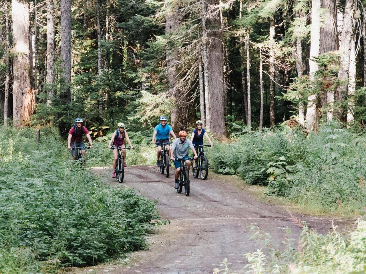 E-Bike & Biathlon Adventure Tour | Whistler Olympic Park