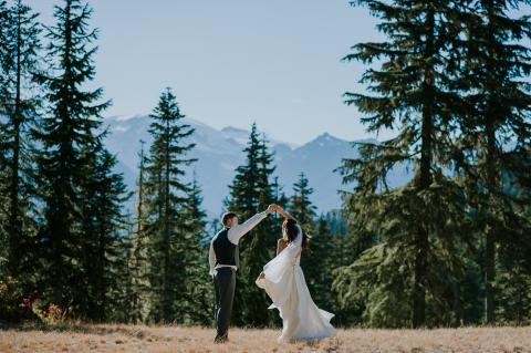 Wedding at Whistler Olympic Park