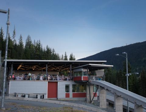 View of Whistler Sliding Centre Top Start House