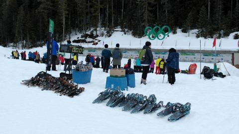 Winter corporate biathlon 1