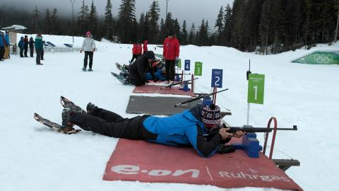 Winter corporate biathlon 3