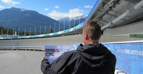 Olympic Sightseeing at the Whistler Sliding Centre