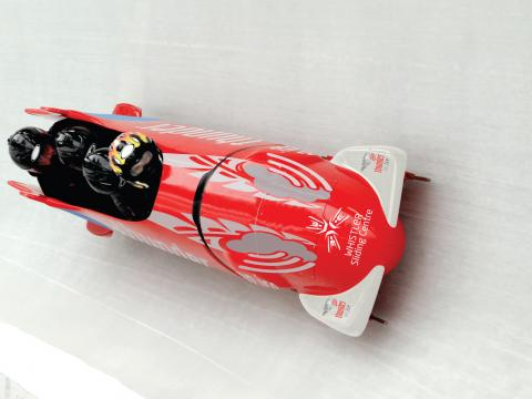 Public Bobsleigh at Whistler Sliding Centre - cropped